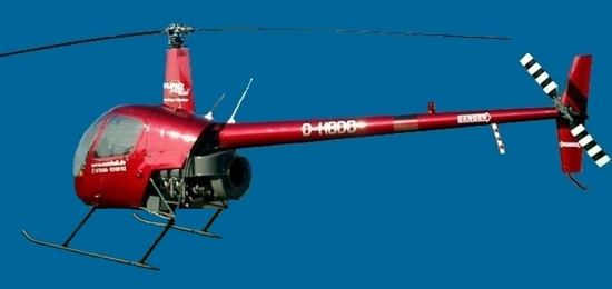 Helicopter Robinson R 22